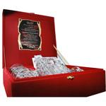 "Bohemia Набор для виски подарочный ""Айсберг"" на 6 персон с панно ""Настоящему мужчине"" reg10028"