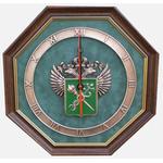 """Настенные часы """"Эмблема Таможни"""" gt12-077"""