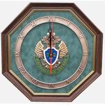"""Настенные часы """"Эмблема Пограничной службы России"""" gt12-084"""