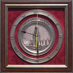 """Плакетка-часы """"Спасская башня"""" gt11-050"""