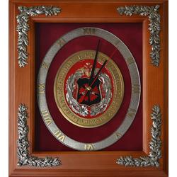"Настенные часы ""100 лет ГРУ"" gt18-308"