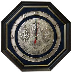 """Настенные часы """"100 лет ВЧК, КГБ, ФСБ"""" gt17-297"""