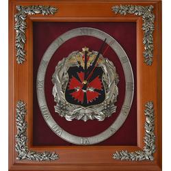 """Настенные часы """"Эмблема ГРУ"""" gt18-309"""