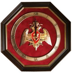 """Настенные часы """"Эмблема Национальной Гвардии"""" gt17-295"""