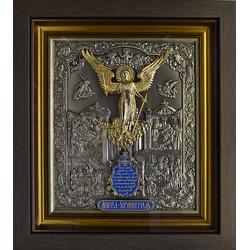 """Икона """"Ангел Хранитель"""" с золочением gt14-145"""