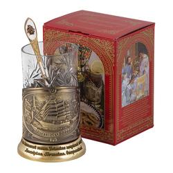 "Набор для чая ""Парусник"" (3 предмета) ПД-360/1К-л"