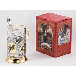 """Набор для чая """"Близнецы"""" 3 предмета ПД-209/1К"""