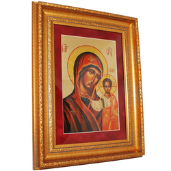 Икона на сусальном золоте reg20103