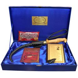 """Подарочный набор """"Кнут и пряник"""" (деревянная ручка) reg23014"""