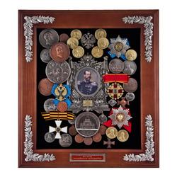 """Панно """"Александр II"""" большое 50х45х5 см. ПГИ-475бол"""