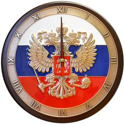 """Настенные часы """"Герб России"""" gt19-343"""