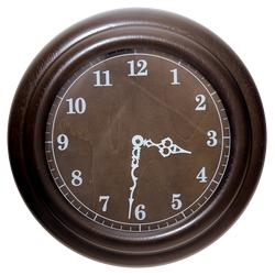 Часы из массива дерева АРТ-002