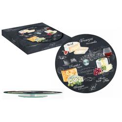 Easy Life (R2S) Блюдо стеклянное для сыра (вращающееся) Мир сыров 46541