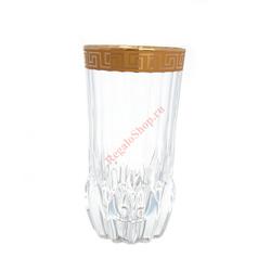 Набор стаканов для воды 400 мл Antique Golden Classic Decor Astra Gold (6 шт) GL29341