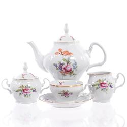 Чайный сервиз Bernadotte Полевой цветок 6 персон 17 предметов GL03762