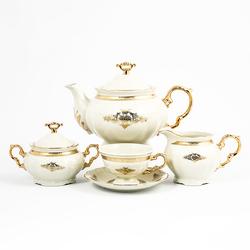 Чайный сервиз Thun Мария Луиза Ivory 6 персон 17 предметов GL27292