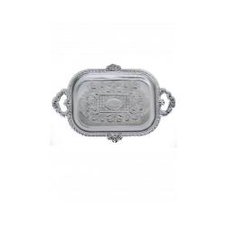 Поднос для пирожного никелированный reg40193