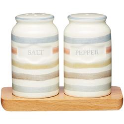 Kitchencraft Набор соль и перец 12х9см на деревянной подставке Классик