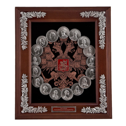 Ключница (Медали династия Романовых) мал. 34х30х9 см. КЛИ-05-РмМал