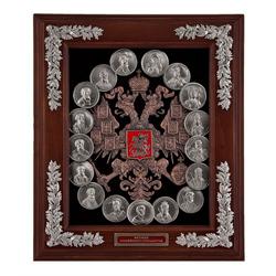 Ключница (Медали династия Рюриковичей) мал. 34х30х9 см. КЛИ-05-РюМал