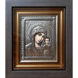"""Икона """"Пресвятая дева Мария с младенцем Иисусом"""" gt12-066"""