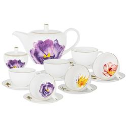 Anna Lafarg Emily Чайный сервиз Flowers, 6 персон, 14 предметов 59121