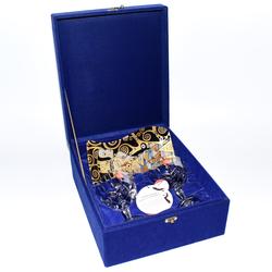 RCR Набор фужеров для шампанского подарочный с фруктовницей reg10062