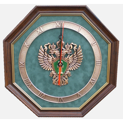 "Настенные часы ""Эмблема Прокуратуры РФ"" gt12-074"