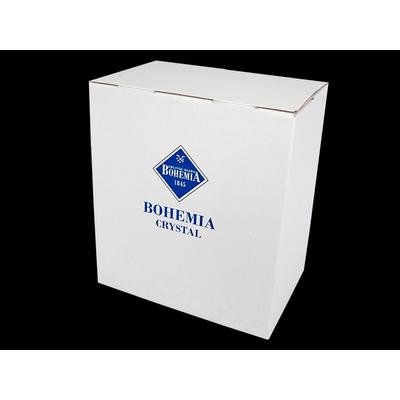 Bohemia Jihlava Ваза Lisboa цветные шары 30 см. (гладкий хрусталь Йиглава)