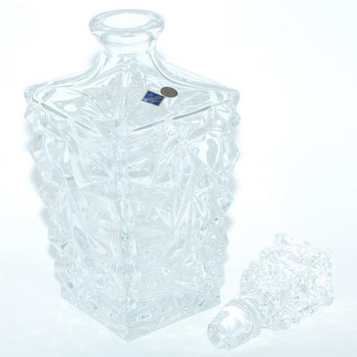 """Bohemia Набор стаканов для виски с графином подарочный """"Айсберг"""" reg10001"""