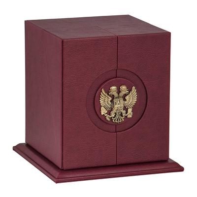 """Бокал для коньяка """"Строители"""" Богемия, отделка """"Сеточка"""" ББС-01С"""