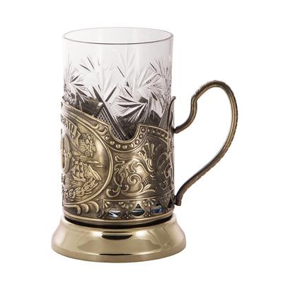 """Набор для чая подарочный с книгой """"С юбилеем! 50 лет"""" в футляре reg23003"""