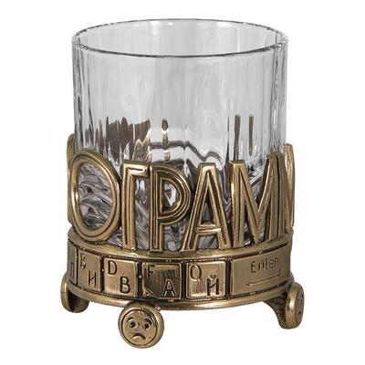 "Бокал для виски ""IN100GRAMM"" (в футляре-кейсе) БВ-01(""IN100GRAMM"")"