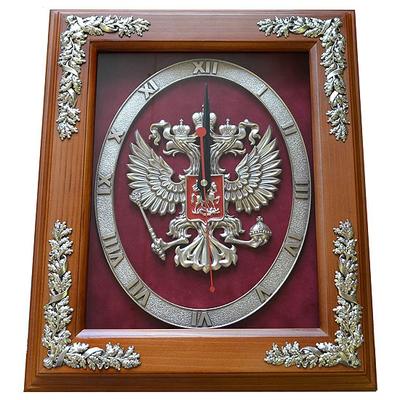 """Настенные часы """"Герб России"""" gt15-265"""