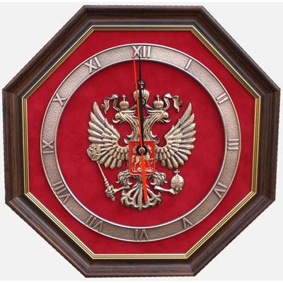 """Настенные часы """"Герб России"""" gt12-075"""
